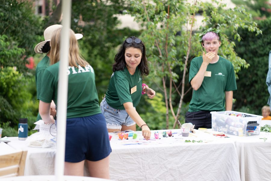 Interns at Rainbow Party