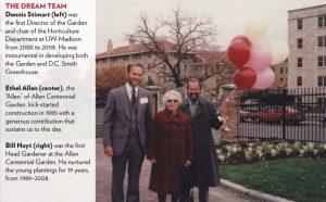 Ethel Allen, Dennis Stimart, and Bill Hoyt