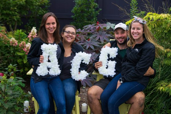 Staff with Floral ACG Letters