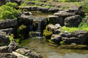 Rock Garden Waterfall